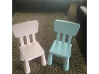 Pair of Disney style chairs