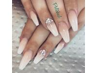 Acrylic and Gel polish nails, other services available