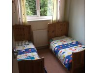 Thuka Childs Pine Cot/Cot Bed, Mattresses, Wardrobe, Chest of Drawers and Under Bed Storage Drawers