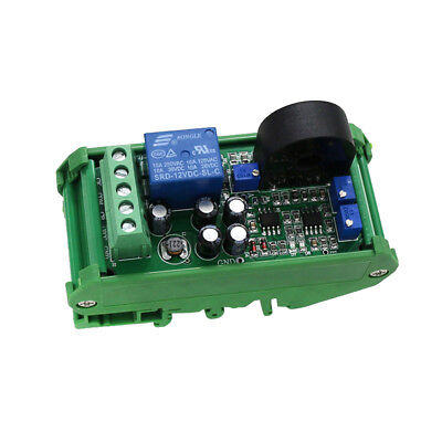 0-20a Ac Current Sensor Detection Module Switch Output With Base For