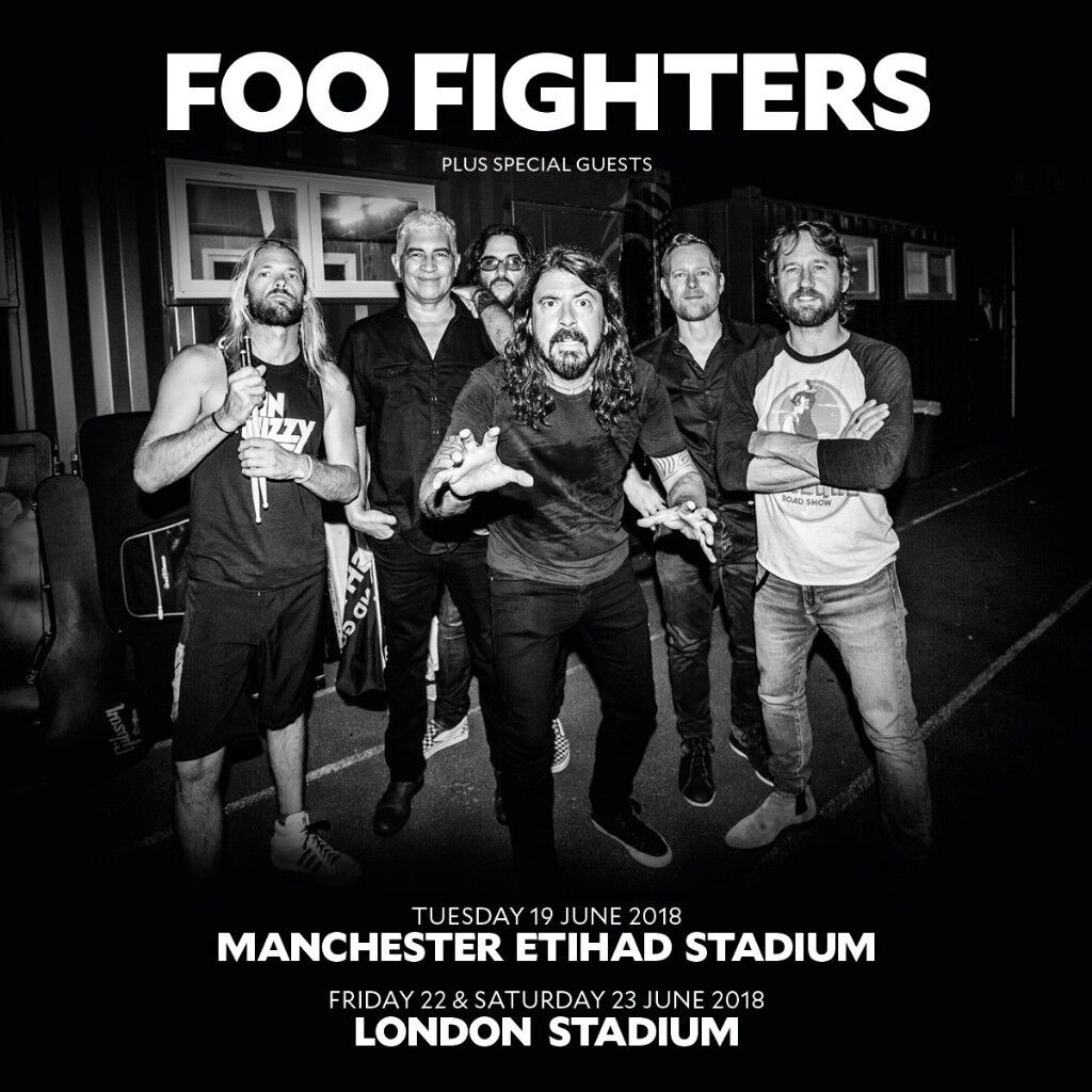 Foo Fighters  Tour Dates Uk