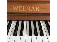 Upright piano by the well known company Welmar - very good condition - beautiful tone