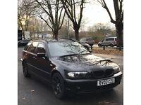 BMW 320D diesel estate low mileage 2003