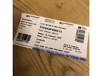 Stereophonics ticket - Nottingham - standing - 26/02/18 - £ Face value
