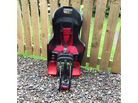 Baby/Toddler rear mounted bike seat