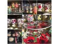 Wide range of items from our closed down shop - Small gifts, beautiful cards and wrapping, Household