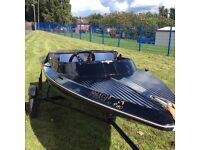 Small speedboat allmarine seafire
