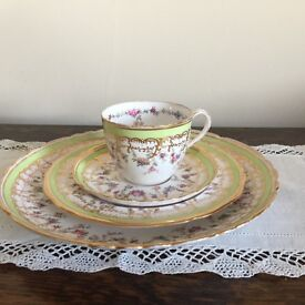 Copeland china cup and saucer, tea plate and serving plate