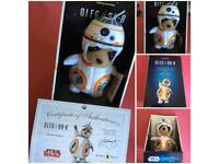 Meerkat Oleg As BB-8 Brand New with certificate un-opened Limited Edition