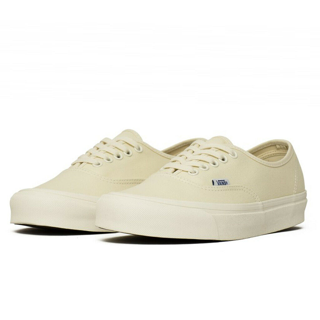 taille 40 05113 125da Details about Vans Vault OG Authentic LX Classic White Safari Sneakers  Shoes VN000UDDIAV