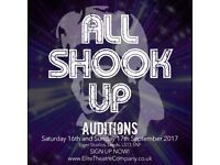 Auditions for 'All Shook Up' Musical
