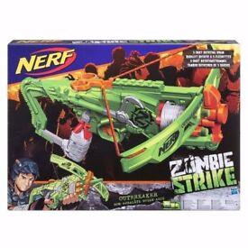 Nerf Zombie Strike Outbreaker Bow: Brand New