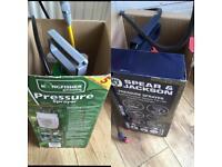 Garden sprayers ex display £15 for both