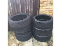 """18"""" tyres x2 245/45/18 and x2 265/35/18"""