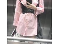 Pink oversize shirt!