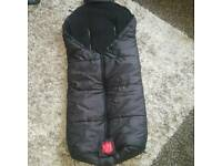 Kaiser warm cosy footmuff 6-36 months, used for sale  Leicestershire