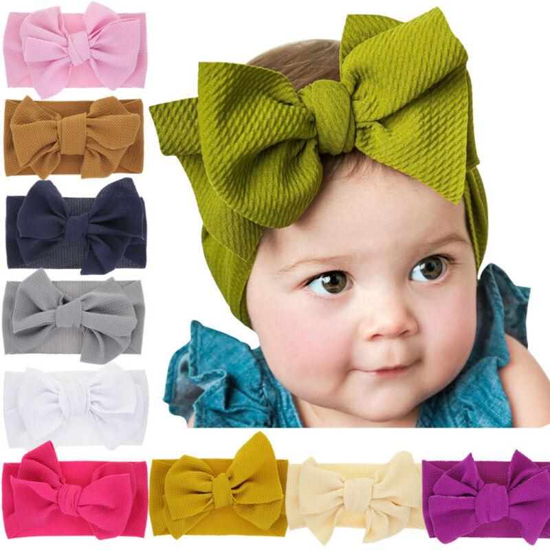 Newborn Toddler Cute Kid Baby Girls Flowers Turban Headband