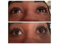 Semi-Permanent Eyelash extensions! Fully certified and Insured. Available appointments this week