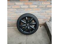 Full set of Mini cooper alloy wheels