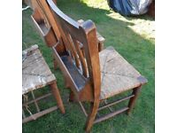 3 church chairs for restoration