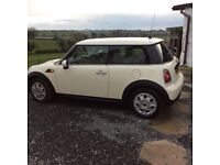 2010 Mini One 1.6 3 door hatchback for sale, low mileage, fsh, long MOT, great condition