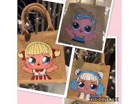 Lol surprise jute bags