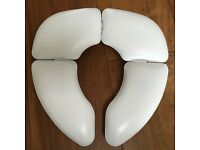 Cushioned Portable Foldable Children's Toilet Seat - £5
