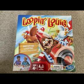 Loopin Louie game board