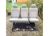 Vw rear van seats
