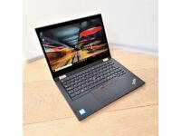 Lenovo ThinkPad Yoga X390 Touch i7 8th Gen 16GB Ram 256GB SSD Convertible Laptop