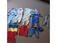 next 3-6 month baby boy clothes 1x 6-9 month