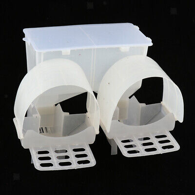 Pigeon Feeder Automatic Feeding Case Hanging Cage Birds Food Dispenser Boxes