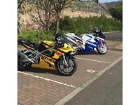 Suzuki gsxr 750 sportsbike