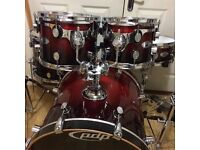 Fully Refurbished PDP (DW) M5 Maple Drum Kit // Free Local Delivery