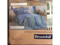 Kingsize Broomhill duvet cover, p.cases and cushion cover, still packaged