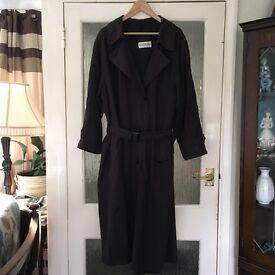 Stylish ladies raincoat