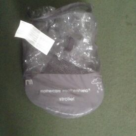 MOTHERCARE Weathershield Stroller Raincover.