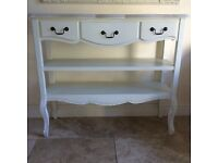***IVORY CONSOLE TABLE***