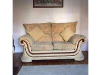 Excellent condition Kendal's sofa. Machine washable scotch guarded covers (175w, 105h, 100d cm)