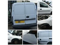Vauxhall Combo CDTI Van 2005 1.7 White Doors all parts available