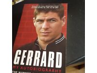 Steven Gerrard signed copy