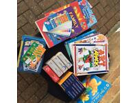 Educational, activity and brain use books