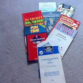 Clarinet music books