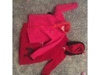 Free coats age 5-6 regatta coat and red coat