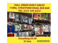 Hall Green Fancy Dress - Closing down sale