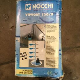 Nocchi 130/5 Submersible Pump