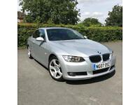 BMW 3 SERIES 320i 2 DOOR COUPE 2.0 PETROL CONVERTIBLE CABRIOLET E90 E93