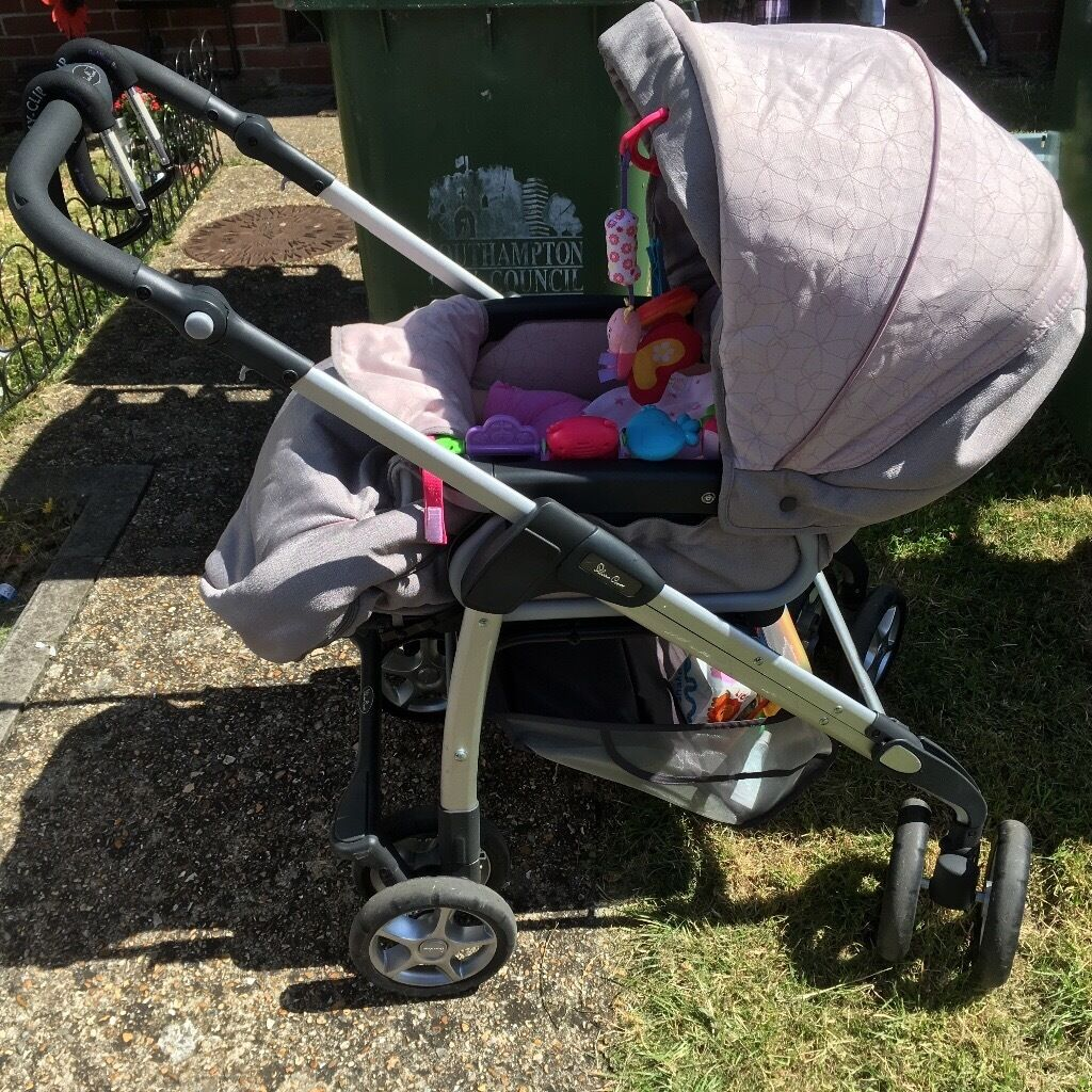 Silver Cross 3 In 1 Pram With All Accessories In