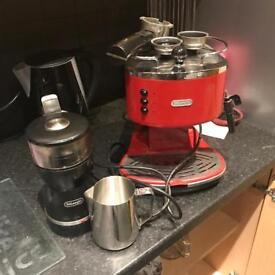 De'Longhi coffee espresso machine