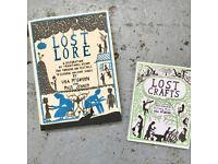 Lost Lore & Lost Crafts Books